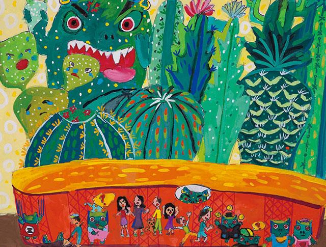 世界兒童繪畫巡迴展
