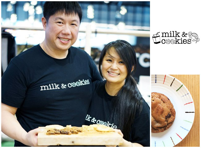 美國手工軟心餅乾.milk & cookies