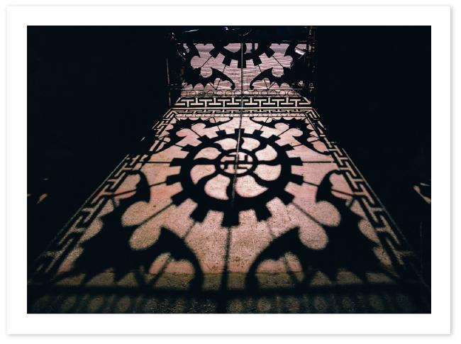 廟宇祈神光影之美