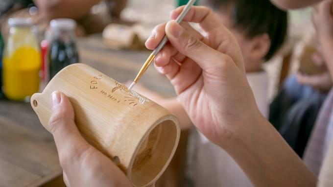 特企活動|手作彩繪竹杯