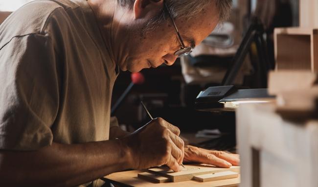 陳彫刻處.彫刻老工具體驗